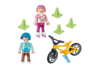 Playmobil Special Plus Children with Skates and Bike