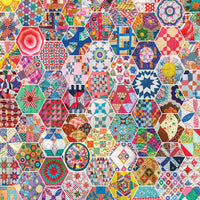 Crazy Quilts 500 Piece Puzzle