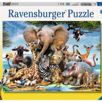 African Friends 300 Piece Puzzle