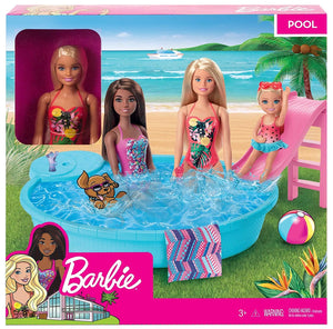 Barbie Doll and Pool Play Set