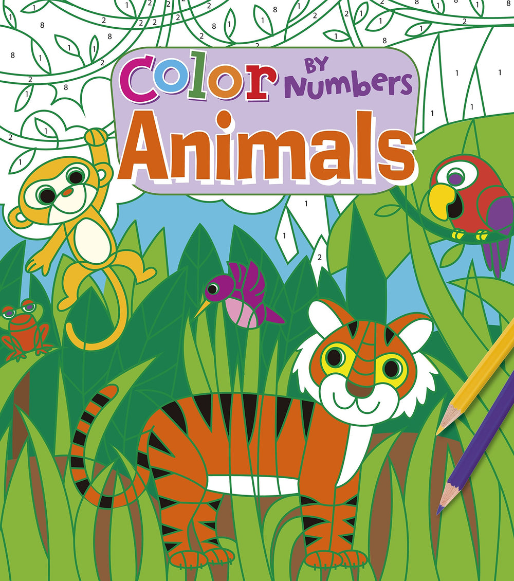 Color By Number Animals