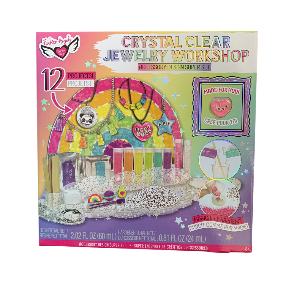 Fashion Angels Crystal Clear Jewelry Workshop