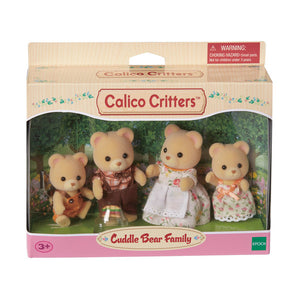 Calico Critters-Cuddle Bear Family