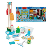 Deluxe Cleaning & Laundry Play Set