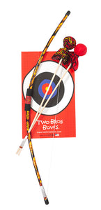 Two Bros Bows Bow and Arrow Set with Target