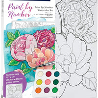 Paint By Number Floral