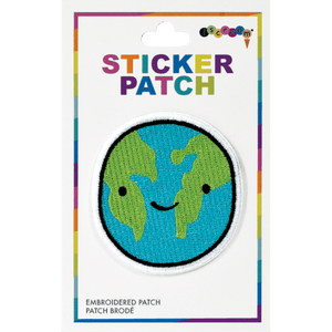 Happy Planet Sticker Patch
