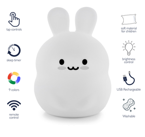 LumiPets LED Night Light Bunny