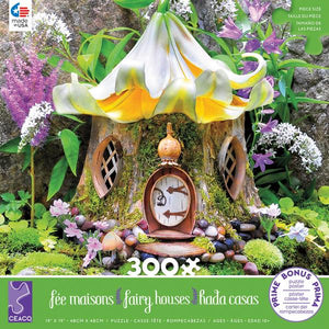 Fairy House Lily Tea House 300 Piece Puzzle
