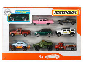 Matchbox Gift Pack 9 Cars