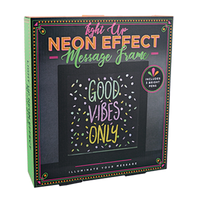 Light Up Neon-Effect Frame