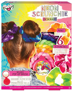 Fashion Angels Neon Scrunchie Design Kit