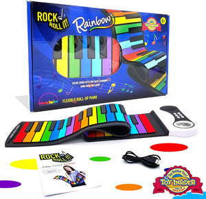 Mukikim Rock & Roll It Rainbow Piano