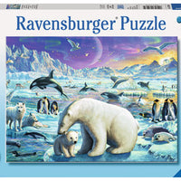 Polar Animal Gathering 300 Piece Puzzle