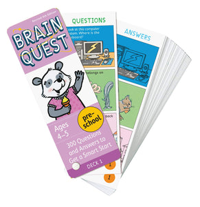 Brain Quest For Preschool: 300 Questions and Answers