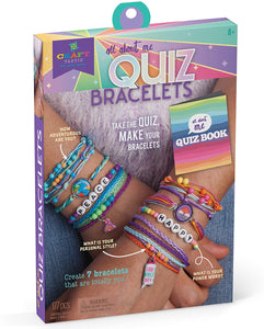 Craft-tastic All About Me Quiz Bracelets Craft Kit