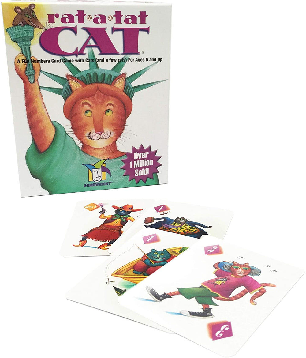 Rat A Tat Cat Card Game