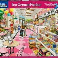 Ice Cream Parlor 1000 Piece Puzzle
