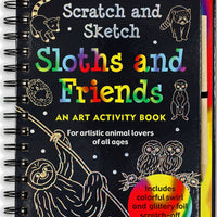 Scratch and Sketch Sloths and Friends