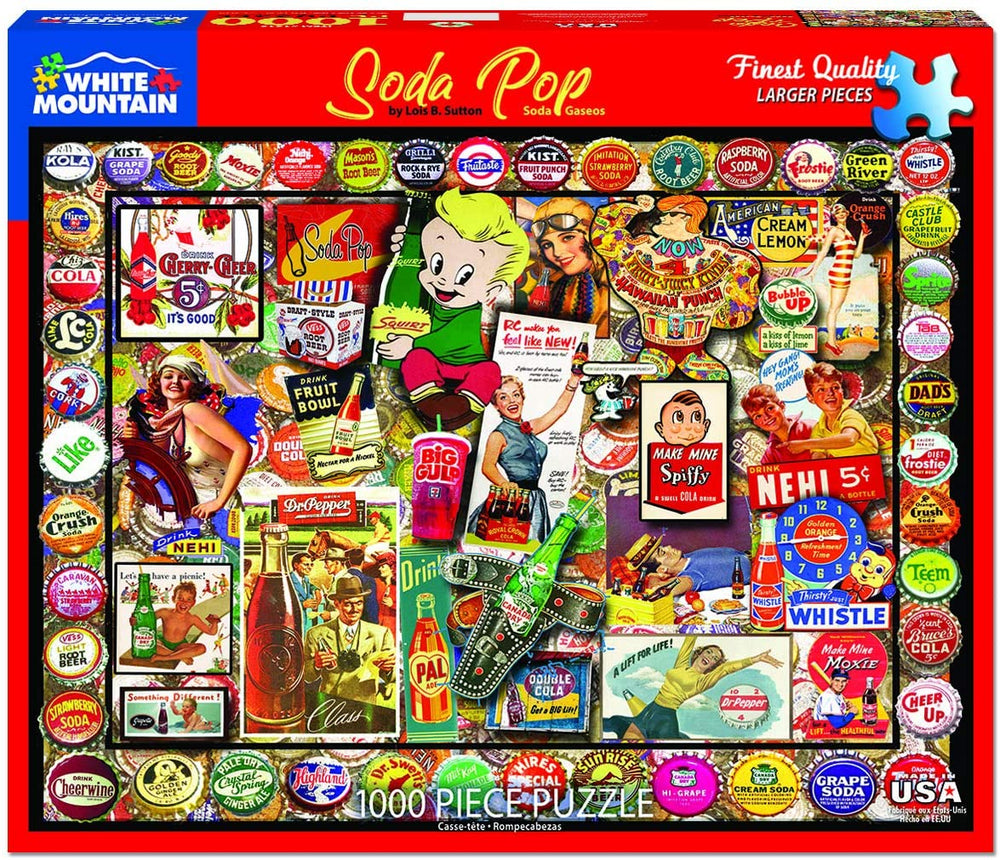 Soda Pop 1000 Piece Puzzle