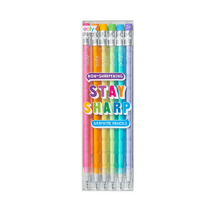 Stay Sharp Rainbow Pencils