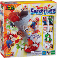 Super Mario Blow Up Shaky Tower Game