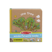Natural Play 3-Pack Wonderful World Books