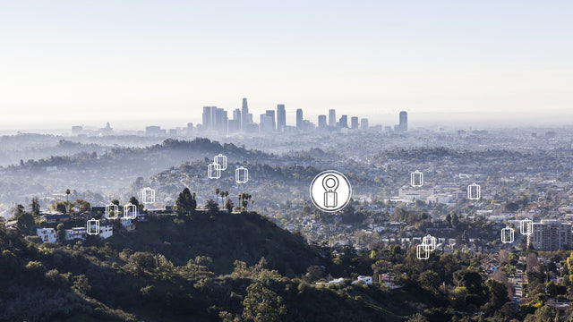 L.A. Skyline from a distance