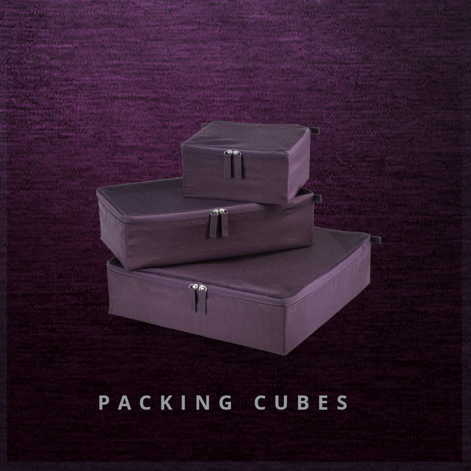 Essentials 2.0 Packing Cubes in Plum