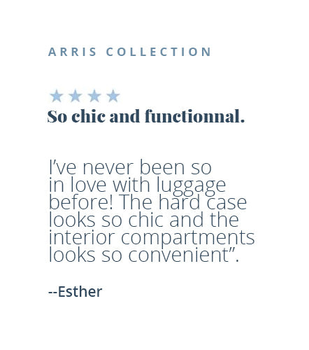 Four-star review of the Arris collection by Esther