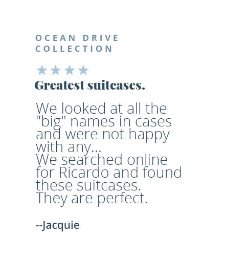 Four-star review of Ocean Drive collection by Jacquie