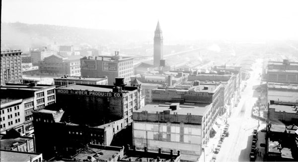 Image of old Seattle