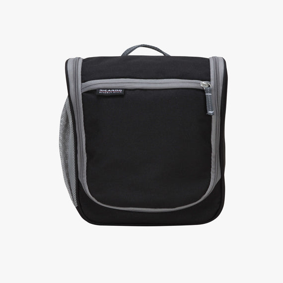 OBSOLETE-10-inch Travel Organizer Ricardo Beverly Hills 10-inch Travel Organizer in Black in  in Color:Black in  in Description:Front
