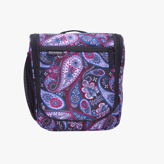 OBSOLETE-10-inch Travel Organizer Ricardo Beverly Hills 10-inch Travel Organizer in Midnight Paisley in  in Color:Midnight Paisley in  in Description:Front
