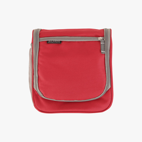 OBSOLETE-10-inch Travel Organizer Ricardo Beverly Hills 10-inch Travel Organizer in Ribbon Red in  in Color:Ribbon Red in  in Description:Front