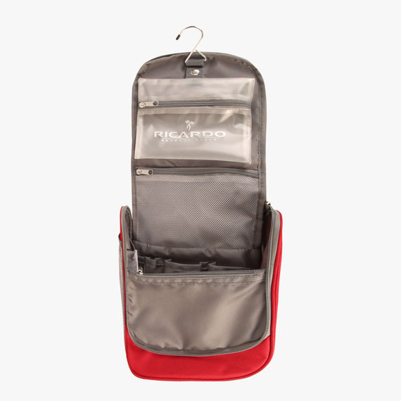 OBSOLETE-10-inch Travel Organizer Ricardo Beverly Hills 10-inch Travel Organizer in Ribbon Red in  in Color:Ribbon Red in  in Description:Opened