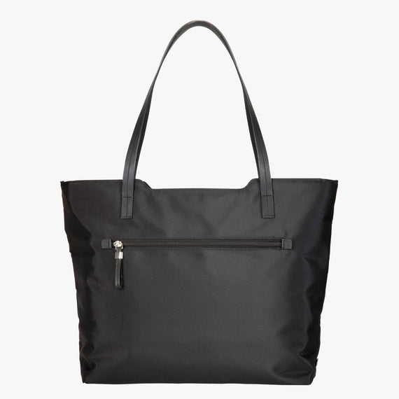 Travel Tote Seahaven Tote in Black Front View in  in Color:Black in  in Description:Front