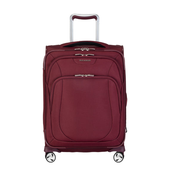 Carry-On Seahaven 20-Inch Carry-On Suitcase in Currant Front View in  in Color:Currant in  in Description:Front