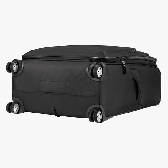 Large Check-in Seahaven 29-inch Check-In Suitcase in Black Bottom View in  in Color:Black in  in Description:Bottom