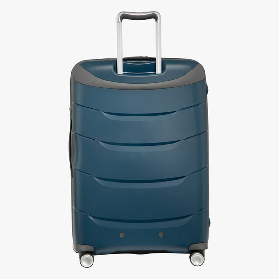 Large Check-In Mendocino 28-inch Check-in Suitcase in Blue Depths Back View in  in Color:Blue Depths in  in Description:Back