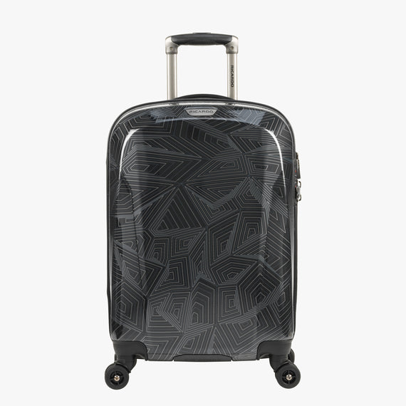 Carry-On Spectrum Carry-On Spinner luggage - 20-inch in Black Front View in  in Color:Black in  in Description:Front