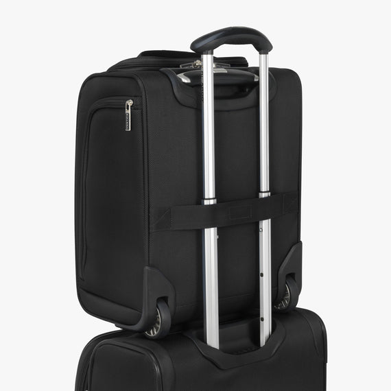 Small Carry-On Mar Vista 2.0 16-Inch 2-Wheel Under-Seat Carry-On in Black Back Strap in  in Color:Black in  in Description:Backstrap