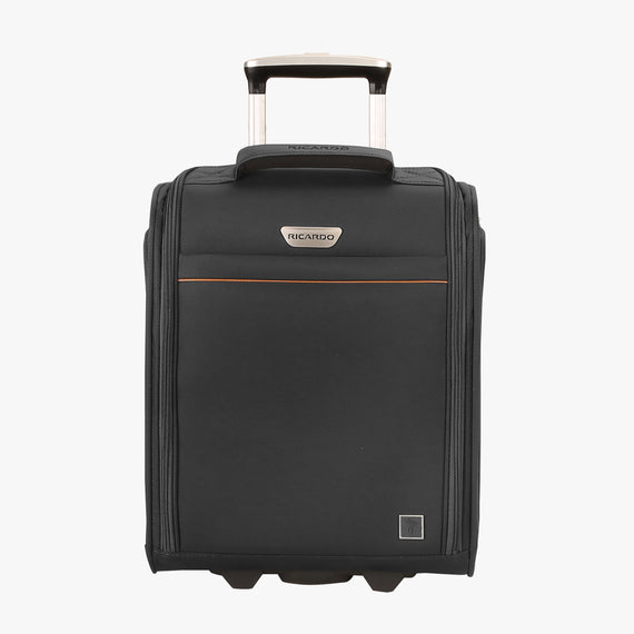 Small Carry-On Mar Vista 2.0 16-Inch 2-Wheel Under-Seat Carry-On in Black Front View in  in Color:Black in  in Description:Front