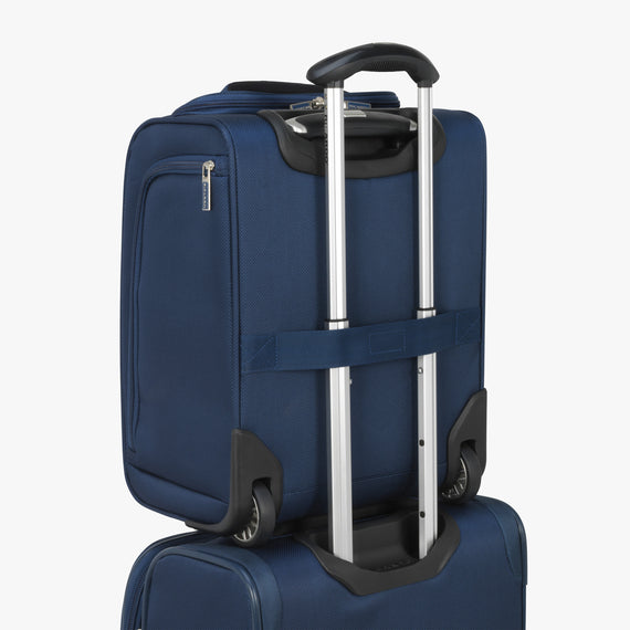 Small Carry-On Mar Vista 2.0 16-Inch 2-Wheel Under-Seat Carry-On in Moroccan Blue Back Strap in  in Color:Moroccan Blue in  in Description:Backstrap