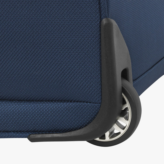 Small Carry-On Mar Vista 2.0 16-Inch 2-Wheel Under-Seat Carry-On in Moroccan Blue Corner wheel in  in Color:Moroccan Blue in  in Description:Wheel Detail