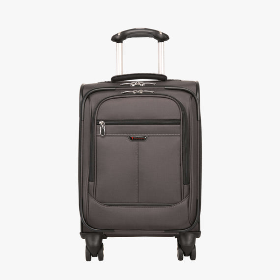 International Carry-On Mar Vista 17-inch Carry-On in Gray Front View in  in Color:Graphite in  in Description:Front