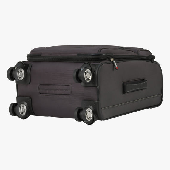 Carry-On Mar Vista 20-inch Carry-On in Graphite Bottom View in  in Color:Graphite in  in Description:Bottom