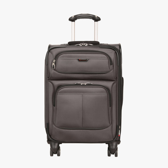 Carry-On Mar Vista 20-inch Carry-On in Graphite Front View in  in Color:Graphite in  in Description:Front