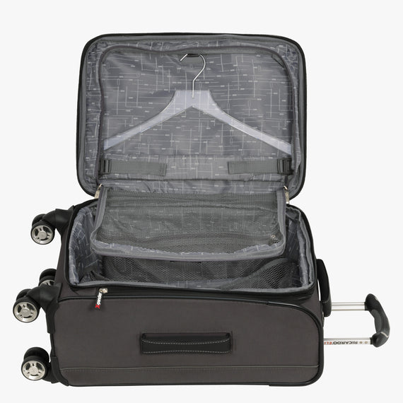 Carry-On Mar Vista 20-inch Carry-On in Graphite Alternate Open View in  in Color:Graphite in  in Description:Open Detail