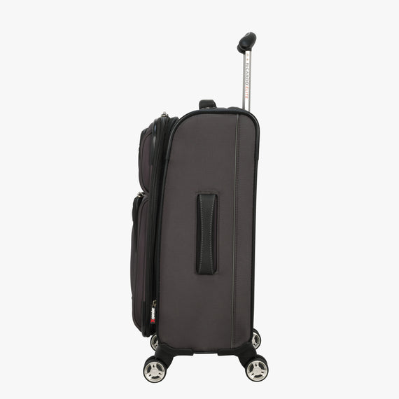 Carry-On Mar Vista 20-inch Carry-On in Graphite Side View in  in Color:Graphite in  in Description:Side